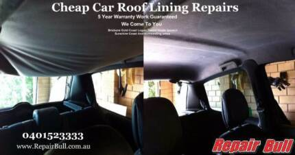 Repair Bull - Cheap Car Roof Lining Repairs 5 Year Warranty