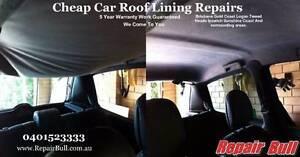 Repair Bull - Cheap Car Roof Lining Repairs 5 Year Warranty Sunshine Coast Region Preview