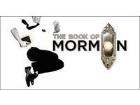 Book of Mormon tickets London - 2x£50=£100. 31/10/17