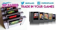 Trade in your Retro Games for Cash or Credit
