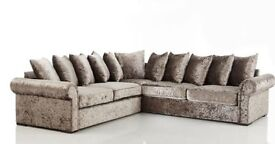 ** 1 YEAR WARRANTY ** BRAND NEW GLP DUAL ARM CORNER SOFA ON SPECIAL OFFER