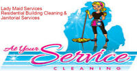 Residential Building Cleaning & Janitorial Services