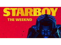 2 x VIP BLOCK (Block 111) tickets for THE WEEKND /Weds 8th March 2017/O2 Arena /3rd ROW/Block 111
