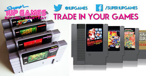 1UP Games - Trade In Your Retro Games / Arcades for Cash