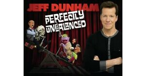 """2 tickets to Jeff Dunham """"Perfectly Unbalanced Tour"""" - Jan. 25th"""