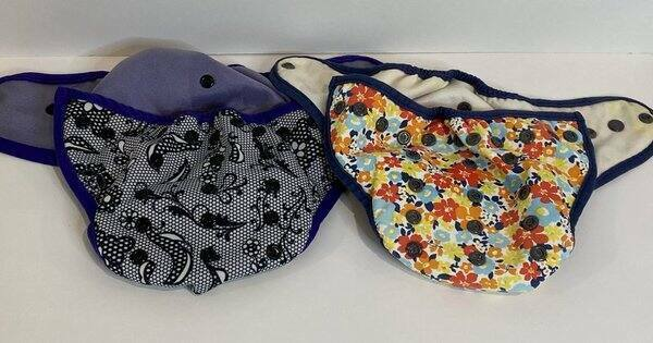 Best Bottom Cloth Diaper Covers Adjustable Lot of 2 Girl Print
