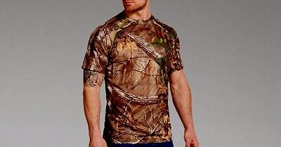 UNDER ARMOUR Men's Hunting Short Sleeve Shirt SCENT CONTROL HUNTING SHIRT XLARGE