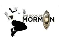 2x Tickets Available For Book Of Mormon 2nd September