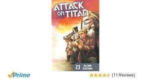 Attack On Titan Vol. 23 for sale!!