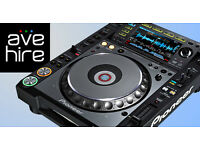 DJ Equipment for Hire in London, DJ Services, DJ Rental