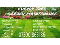 now taking bookings for your monthly upkeep of your gardens