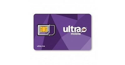 Ultra Mobile Micro/Regular SIM card for Unlocked GSM Phones