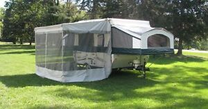 Screen Room for Palomino 12 foot pop up trailer