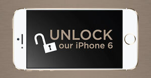 Iphone 6+/6/5S/5C/5/4s/4 Factory Unlocking! Starting at Only $34