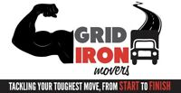 GRID-IRON PROFESSIONAL MOVERS INC....CALL US TODAY 403-702-6691