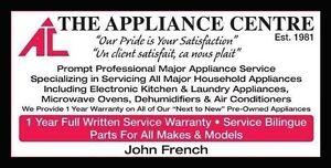 ***The Appliance Centre*** FREE Estimate Appliance Service***