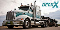 Owner Operators and Drivers For Eastern Canada and USA Flat Deck