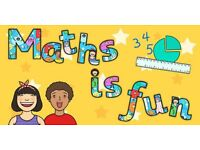 Maths Tutor for children 4-11 - Qualified Primary School Teacher - 12 years experience