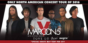 Maroon 5 - Montreal - Centre Bell Tickets