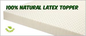 Organic Dunlop Latex Matress Topper