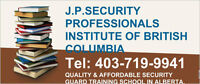 $100 AFFORDABLE AND QUALITY SECURITY GUARDS TRAINING.