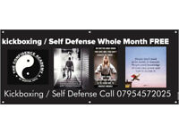 Coalville Kickboxing / Self Defense Whole Month FREE
