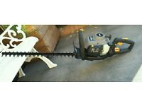 petrol hedge trimmer 26cc