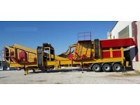 Mobile Crushing plant & Screening Plant Modular Plant Designs