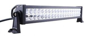 "NEW !!!!  24"" 120w led light bar with brackets and switch"