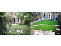 Landscape & gardening & rubbish service same day call for a free quote
