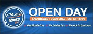 Plus Fitness 24/7 Hornsby - Huge Sale & Open Day - Sat 5 November Hornsby Hornsby Area Preview