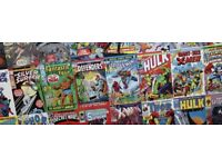 Bulk lot of approx 1500 comics. Mix of Marvel and DC inc Thor, Superman, Spiderman and Xmen