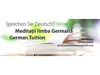 German tuition with native speaker
