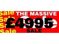 £4495 SALE AT BALLYHALBERT HOLIDAY PARK !!MASSIVE BE QUICK!!