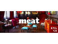 KRUSH Hosts MEAT Calendar Launch Party at Boudoir, Bar Soho