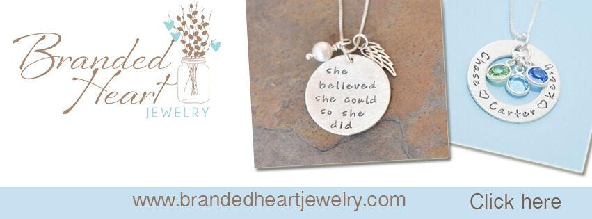 Branded Heart Jewelry