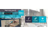 P&G Sealants - MASTIC MAN LONDON / Quality Silicone Works - All London Areas
