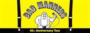 BAD MANNERS TICKET Katoomba Blue Mountains Preview