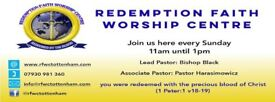VOLUNTARY Drummer WANTED in Tottenham Pentecostal Church -- Near Bruce Grove Station!