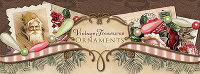 Vintage Treasures Ornaments