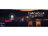 Coachella 2017 Weekend One - April 14-16 - VIP + Hotel