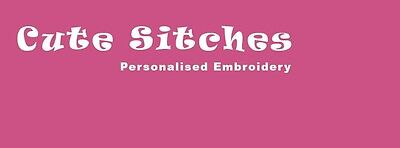 Cute Stitches Embroidery