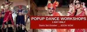 BOLLYWOOD POPUP DANCE WORKSHOPS - commencing 3rd Oct Sydney City Inner Sydney Preview
