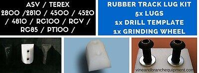 Rubber Track Lug Kit Asv Terex Rc100 Pt100 Rc85 2810 4500 4810