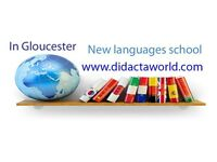 Spanish lessons in Gloucester. New languages school. Learn Spanish, English, Chinese and Russian.
