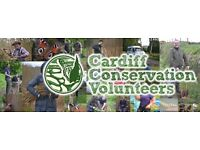 Cardiff Conservation Volunters - Learn, get fit, get involved!