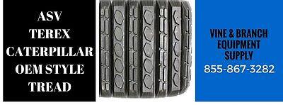 2 X Rubber Tracks Asv Caterpillar Rc100 Rcv Rc85 Pt100 287b