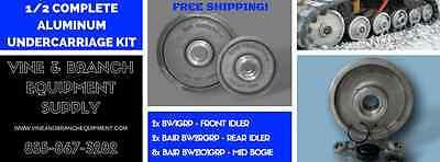 Asv Terex 12 Complete Bair Aluminum Undercarriage Kit Rc50 Rc60 Pt50