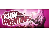 Ruby And The Valentines (Function/ Covers Band) Looking for Female keys player. Who can sing backing