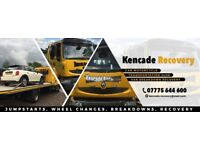 Breakdown service van & car Car towing recovery Recovery Tow london transporting